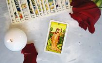 Nine of Pentacles tarot card meanings
