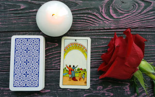 Online daily tarot card reading