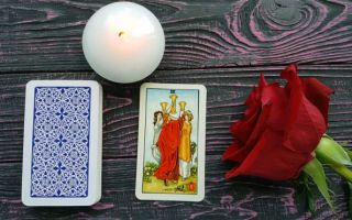 The three of cups meaning in reversed and upright position