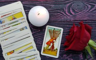 The Ten of Wands tarot card meanings