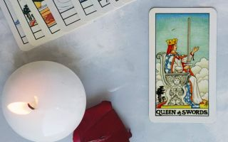 The Queen of Swords — tarot card meaning