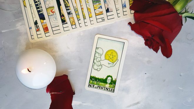 Ace of Pentacles – tarot card meanings in readings