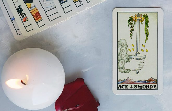 Ace of swords meanings for love, money and future